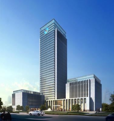 德清农村合作银行新建办公大楼